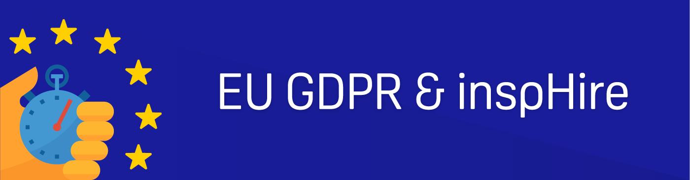 EU GDPR & inspHire