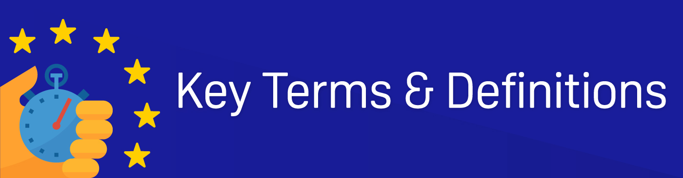 Key Terms & Definitions